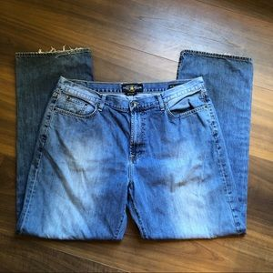 Lucky Brand 181 Relaxed Straight Jeans 40x34